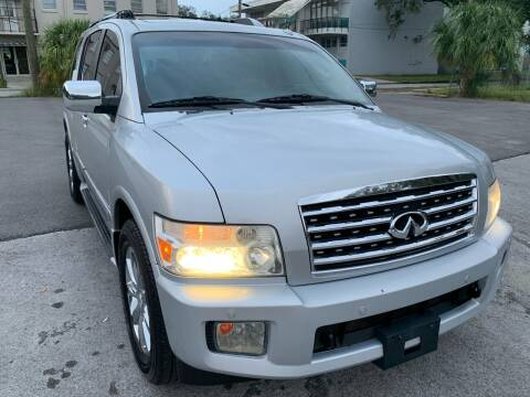 2008 Infiniti QX56 for sale at Consumer Auto Credit in Tampa FL