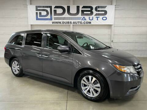 2015 Honda Odyssey for sale at DUBS AUTO LLC in Clearfield UT