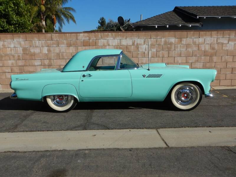 1955 Ford Thunderbird for sale at California Cadillac & Collectibles in Los Angeles CA