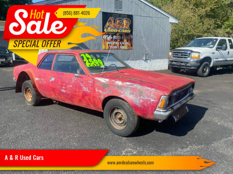 1971 AMC Hornet for sale at A & R Used Cars in Clayton NJ