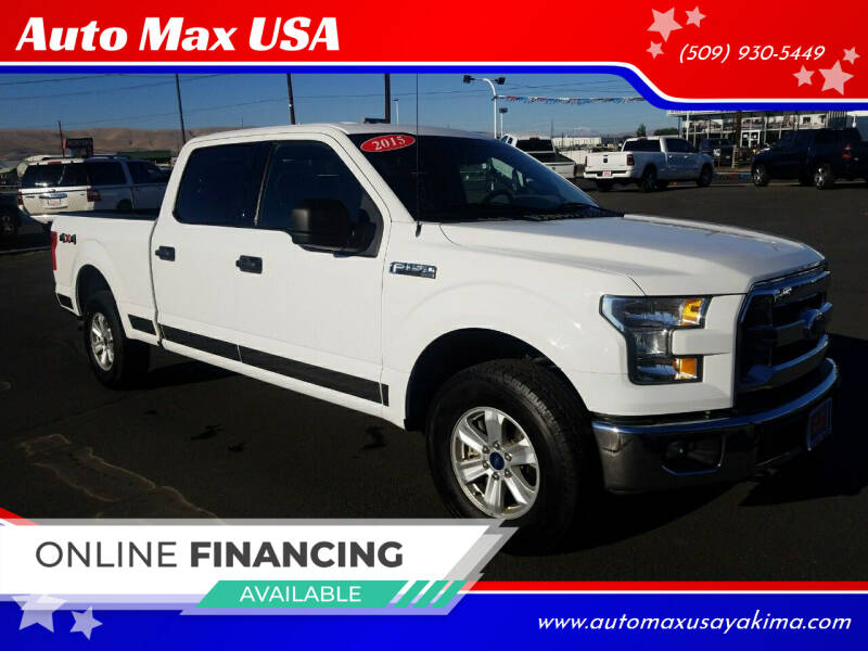 2015 Ford F-150 for sale at Auto Max USA in Yakima WA