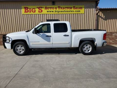 2008 Chevrolet Silverado 1500 for sale at BIG 'S' AUTO & TRACTOR SALES in Blanchard OK