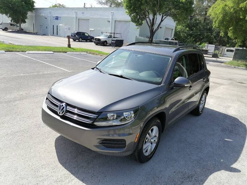 2015 Volkswagen Tiguan for sale at Best Price Car Dealer in Hallandale Beach FL