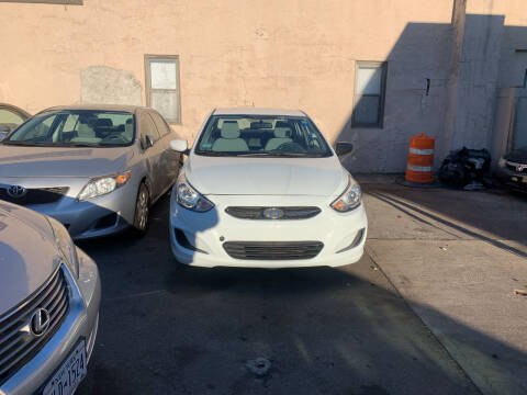 2015 Hyundai Accent for sale at Gondal Motors in West Hempstead NY