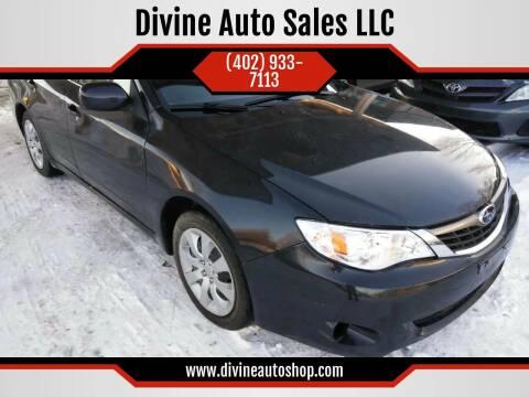 2009 Subaru Impreza for sale at Divine Auto Sales LLC in Omaha NE