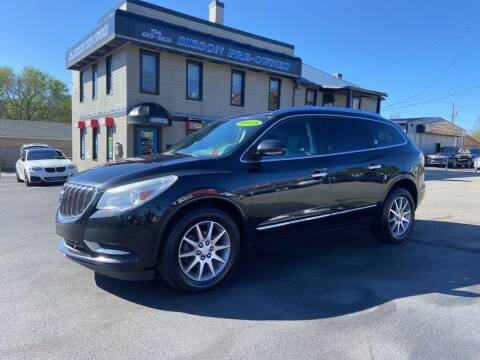 2013 Buick Enclave for sale at Sisson Pre-Owned in Uniontown PA