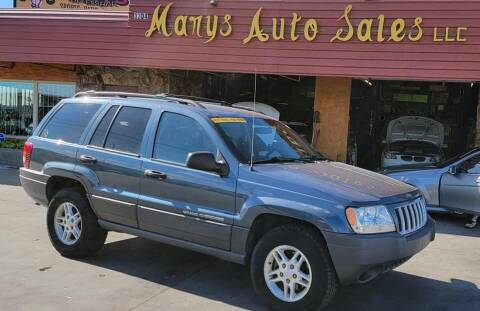 2004 Jeep Grand Cherokee for sale at Marys Auto Sales in Phoenix AZ