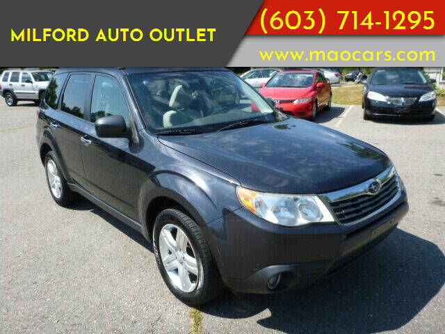 2012 Subaru Forester for sale at Milford Auto Outlet in Milford NH