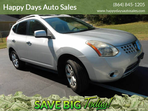 2010 Nissan Rogue for sale at Happy Days Auto Sales in Piedmont SC