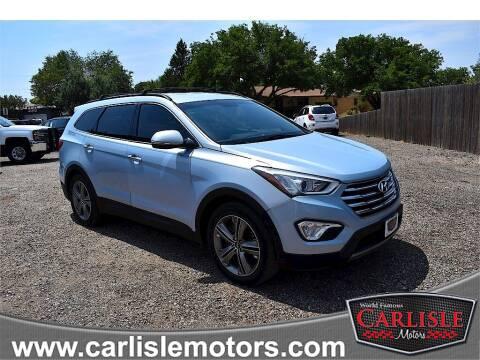 2013 Hyundai Santa Fe for sale at Carlisle Motors in Lubbock TX