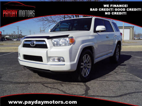 2011 Toyota 4Runner for sale at Payday Motors in Wichita And Topeka KS