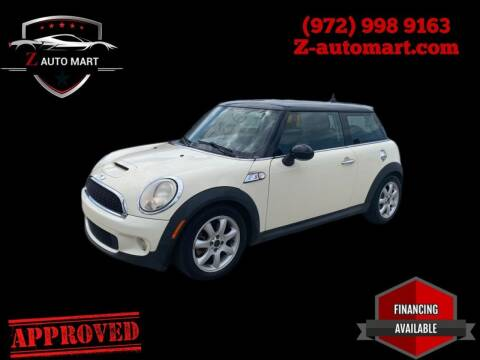 2008 MINI Cooper for sale at Z AUTO MART in Lewisville TX
