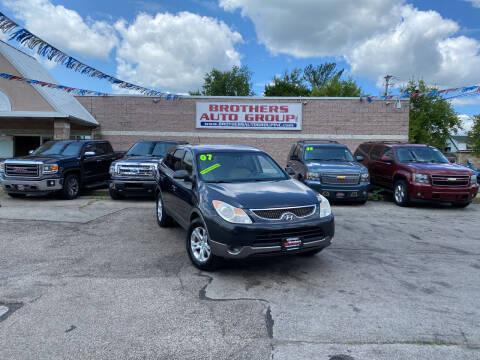 2007 Hyundai Veracruz for sale at Brothers Auto Group in Youngstown OH