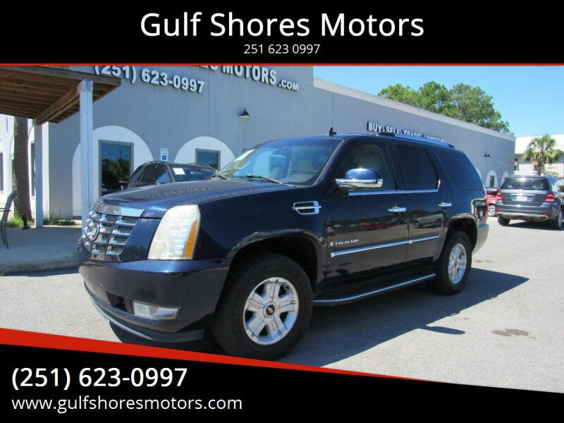 2007 Cadillac Escalade for sale at Gulf Shores Motors in Gulf Shores AL