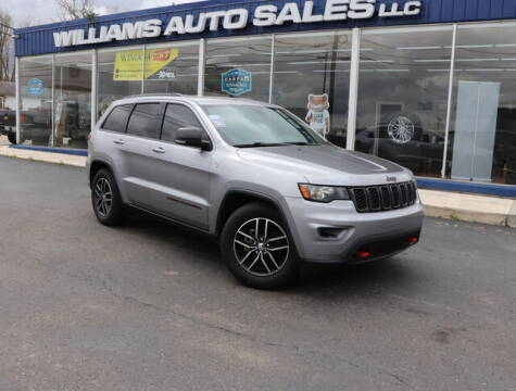 2018 Jeep Grand Cherokee for sale at Williams Auto Sales, LLC in Cookeville TN