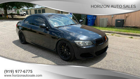 2013 BMW 3 Series for sale at Horizon Auto Sales in Raleigh NC