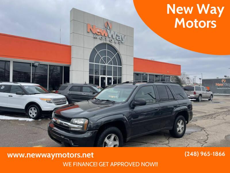 2006 Chevrolet TrailBlazer for sale at New Way Motors in Ferndale MI
