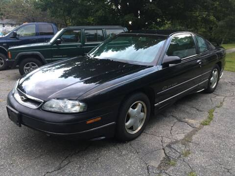 1997 Chevrolet Monte Carlo for sale at Olney Auto Sales in Springfield VT