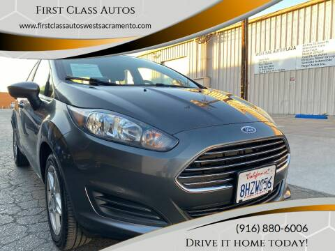 2017 Ford Fiesta for sale at Car Source Center in West Sacramento CA