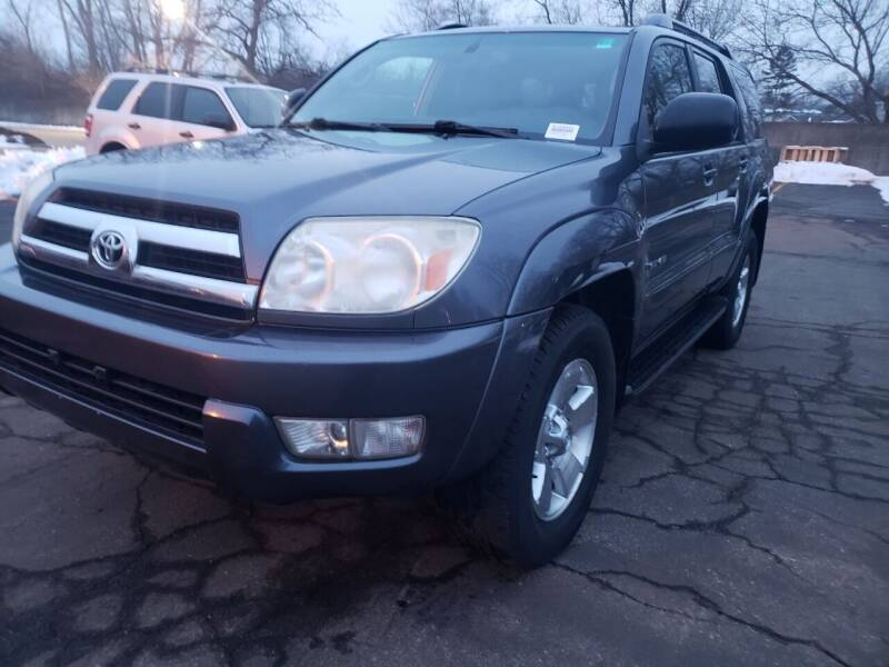 2005 Toyota 4Runner for sale at Cj king of car loans/JJ's Best Auto Sales in Troy MI