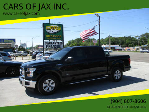 2017 Ford F-150 for sale at CARS OF JAX INC. in Jacksonville FL