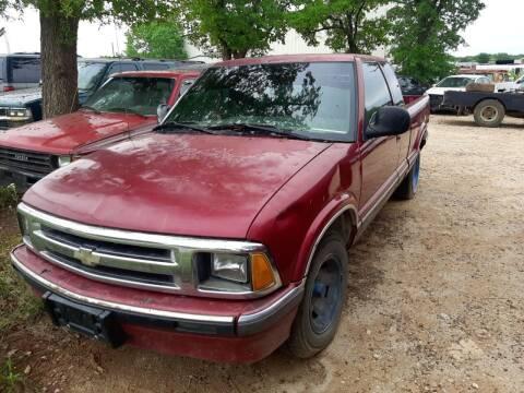 1995 Chevrolet S-10 for sale at KK Motors Inc in Graham TX