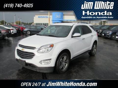 2016 Chevrolet Equinox for sale at The Credit Miracle Network Team at Jim White Honda in Maumee OH