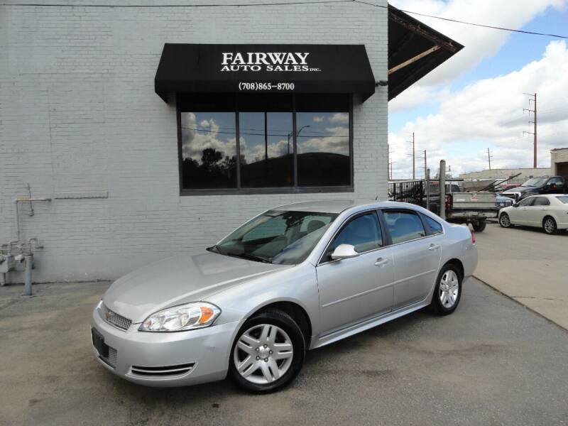 2014 Chevrolet Impala Limited for sale at FAIRWAY AUTO SALES, INC. in Melrose Park IL