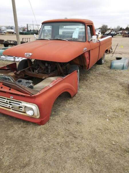 1964 Ford F-100 for sale at CarsBikesBoats.com in Round Mountain TX