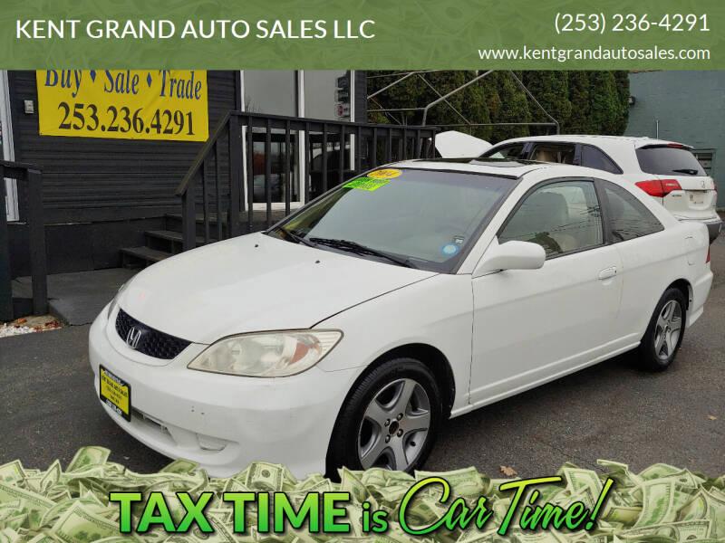 2004 Honda Civic for sale at KENT GRAND AUTO SALES LLC in Kent WA