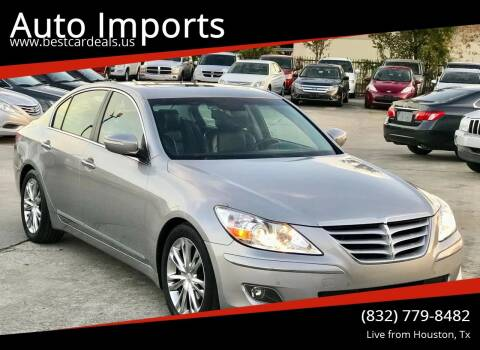 2011 Hyundai Genesis for sale at Auto Imports in Houston TX