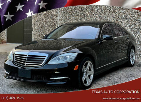 2010 Mercedes-Benz S-Class for sale at Texas Auto Corporation in Houston TX