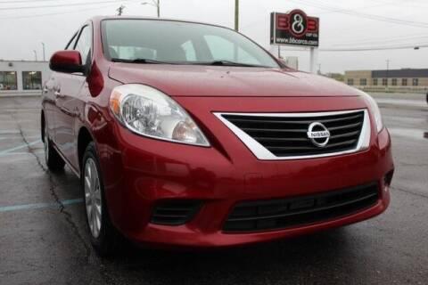 2014 Nissan Versa for sale at B & B Car Co Inc. in Clinton Twp MI