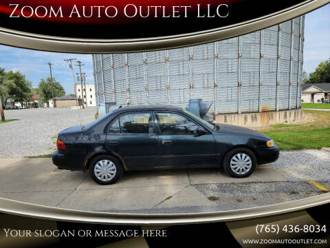 1999 Chevrolet Prizm for sale at Zoom Auto Outlet LLC in Thorntown IN
