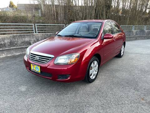 2009 Kia Spectra for sale at Zipstar Auto Sales in Lynnwood WA