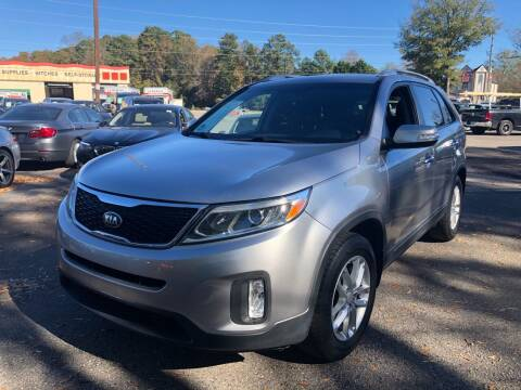 2014 Kia Sorento for sale at Atlantic Auto Sales in Garner NC
