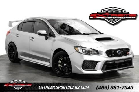 2018 Subaru WRX for sale at EXTREME SPORTCARS INC in Carrollton TX