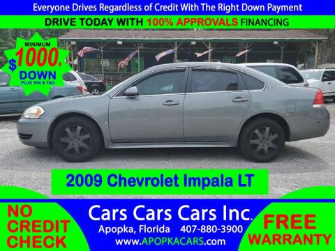 2009 Chevrolet Impala for sale at CARS CARS CARS INC in Apopka FL