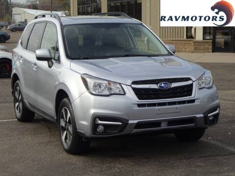 2017 Subaru Forester for sale at RAVMOTORS 2 in Crystal MN