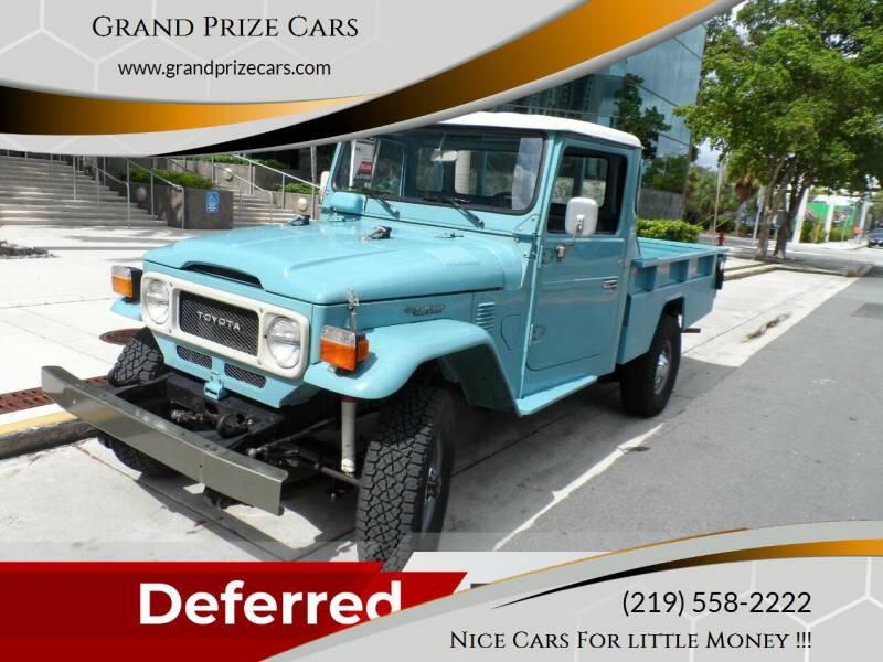 1984 Toyota FJ Cruiser for sale at Grand Prize Cars in Cedar Lake IN