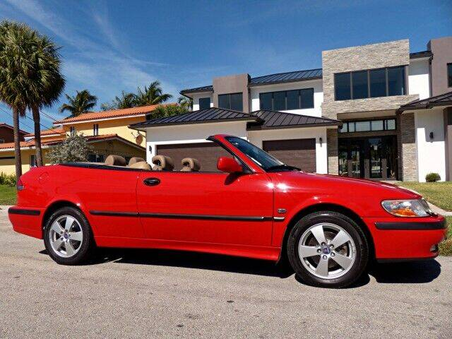 2003 Saab 9-3 for sale at Lifetime Automotive Group in Pompano Beach FL