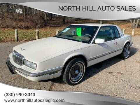 1992 Buick Riviera for sale at North Hill Auto Sales in Akron OH