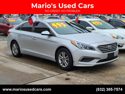 2017 Hyundai Sonata for sale at Mario's Used Cars in Houston TX