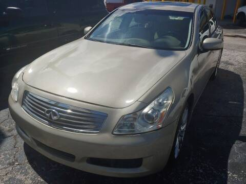 2007 Infiniti G35 for sale at Autos by Tom in Largo FL