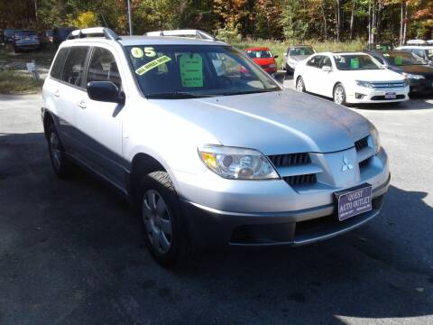 2005 Mitsubishi Outlander for sale at Quest Auto Outlet in Chichester NH