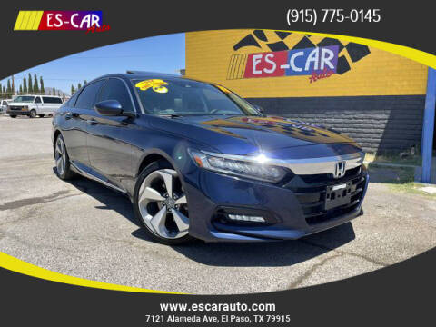 2018 Honda Accord for sale at Escar Auto - 9809 Montana Ave Lot in El Paso TX