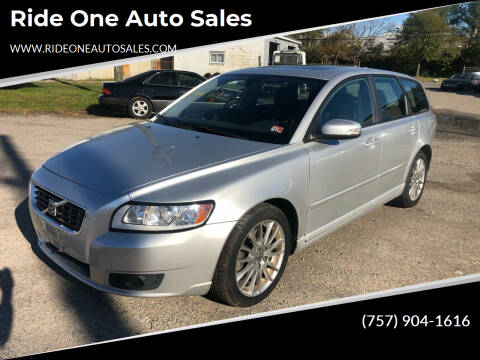 2009 Volvo V50 for sale at Ride One Auto Sales in Norfolk VA