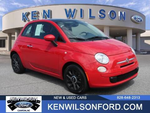 2017 FIAT 500 for sale at Ken Wilson Ford in Canton NC