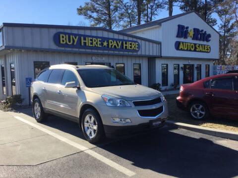 2012 Chevrolet Traverse for sale at Bi Rite Auto Sales in Seaford DE