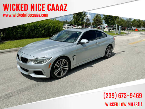 2014 BMW 4 Series for sale at WICKED NICE CAAAZ in Cape Coral FL
